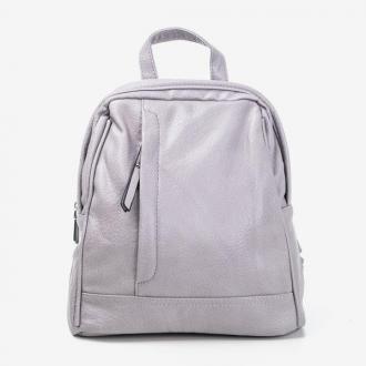 Szary mały plecak damski - Plecaki