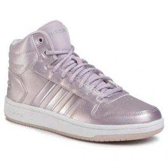 Adidas HOOPS 2.0 MID EF0121 Fioletowy