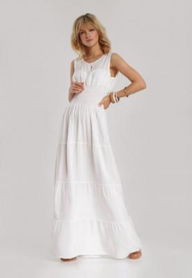 Biała Sukienka Kalimoni