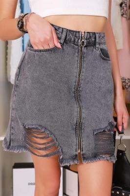 Spódnica jeansowa IVAILA BLACK