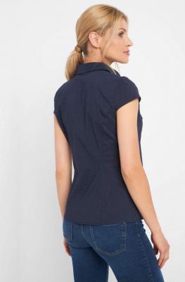 Taliowana koszula w kropki