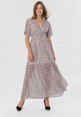 Fioletowa Sukienka Muririssa