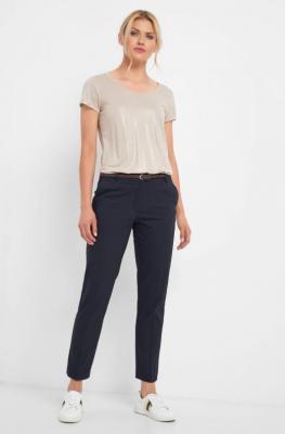 Eleganckie spodnie z paskiem