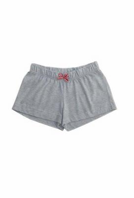 Babella Basic 3094 Szare damskie spodenki piżamowe