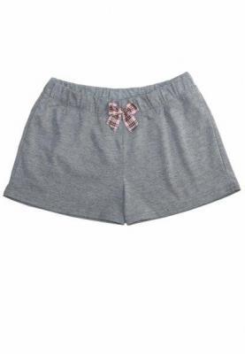 Babella Sand 3084-2 Szare damskie spodenki piżamowe
