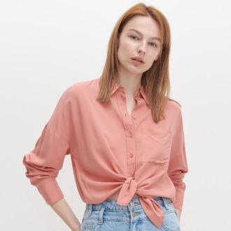 Reserved - Koszula oversize - Różowy