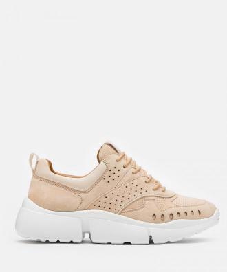 Beżowe sneakersy damskie
