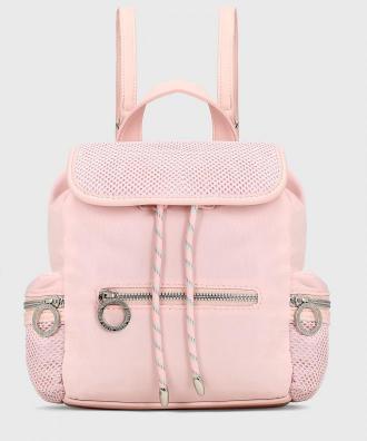 Różowy plecak damski