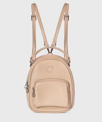 Beżowy plecak damski