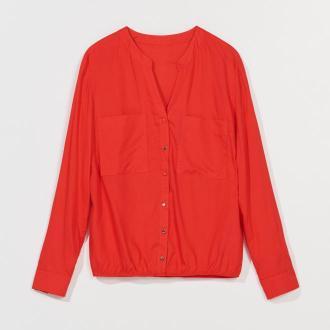 Mohito - Elegancka bluzka z wiskozy - Czerwony