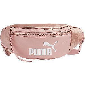 Różowa nerka damska Puma z białym logo