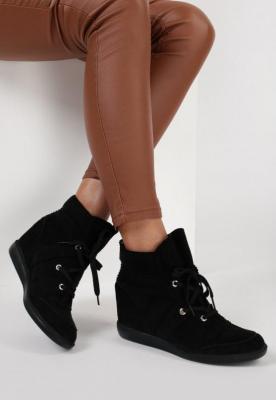 Czarne Sneakersy Assala