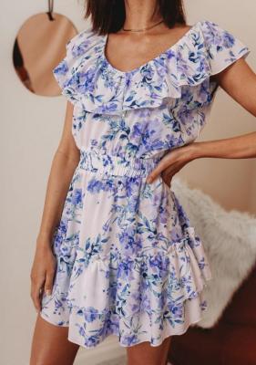 Sukienka Susan - w kwiaty 1