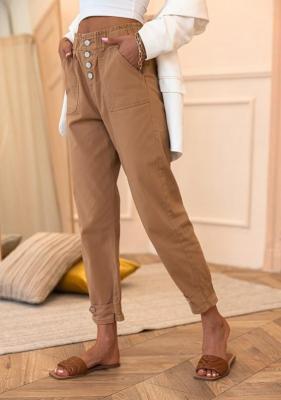 Spodnie Elnura - camel (XL)