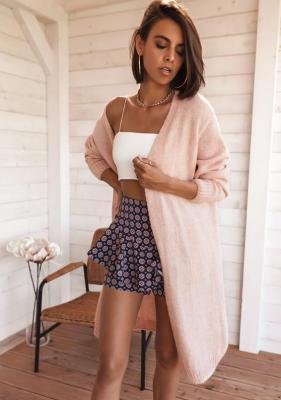 Sweter Zabel - pudrowy róż