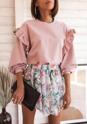 Bluza Suria - pudrowy róż