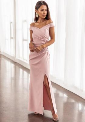 Sukienka Simrita - pudrowy róż (XS)