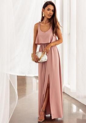 Sukienka Nain - pudrowy róż (S)