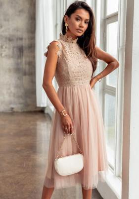 Sukienka Hansa - beż (S)