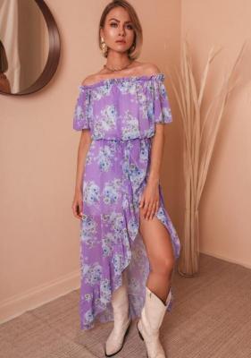 Sukienka Ekiza - w kwiaty 1