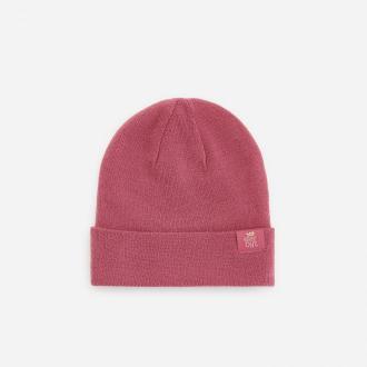 Reserved - Dzianinowa czapka - Różowy