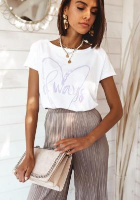T-shirt Luana - biały