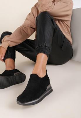 Czarne Sneakersy Yrellith