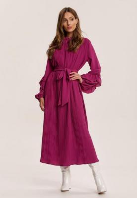 Fioletowa Sukienka Zarintarish