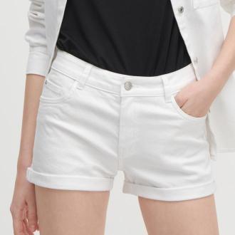 Reserved - Jeansowe szorty - Biały
