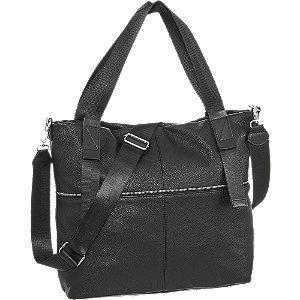 Czarna pojemna torebka damska Graceland