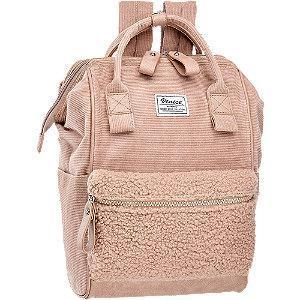 Różowy sztruksowy plecak Venice