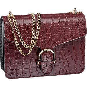 Bordowa torebka damska Graceland na łańcuszku