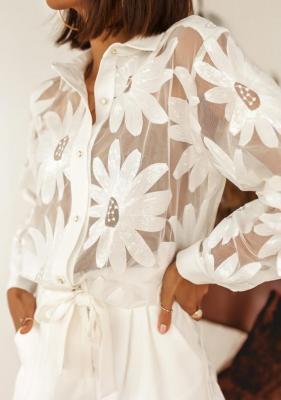 Koszula Arusi - biała (L)