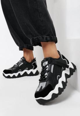 Czarne Sneakersy Caeda