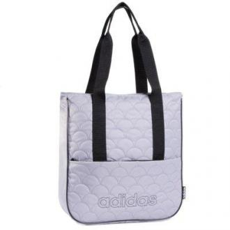 ADIDAS TAILORED 4 HER QUILTED TOTE GE 6119 Szary