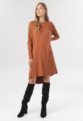 Camelowa Sukienka Fyrelnore