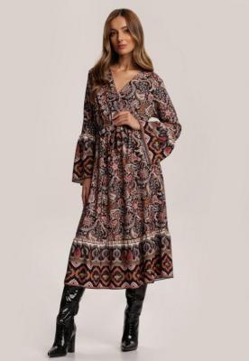 Czarna Sukienka Qhesarah