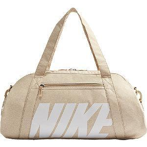Beżowa torba sportowa Nike Gym Club