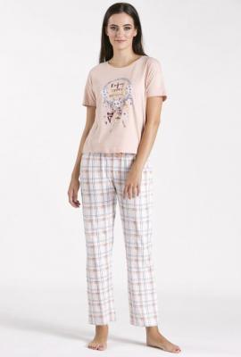 Góra od piżamy z łapaczem snów - Zdjęcie 1