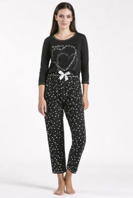 Dół od piżamy w serca - Zdjęcie 1