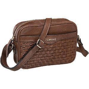 Skórzana torebka damska Uniion Code w kolorze brązowym
