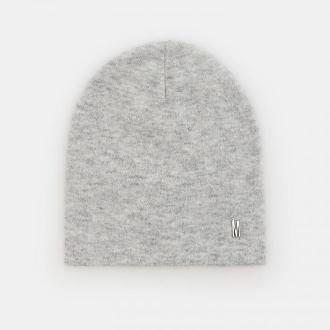 Mohito - Dzianinowa czapka z wiskozą - Jasny szary