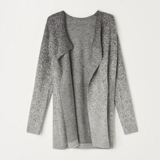 Mohito - Sweter z metalizowaną nitką - Szary