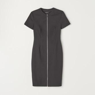 Mohito - Ołówka sukienka z zamkiem - Czarny