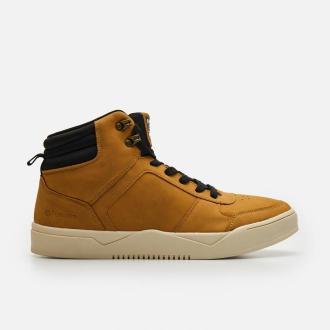 Cropp - Sneakersy za kostkę - Żółty