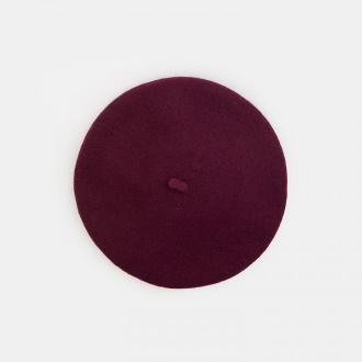 Mohito - Wełniany beret - Bordowy