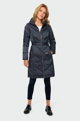 Pikowanym płaszcz ze stójką - Zdjęcie 1