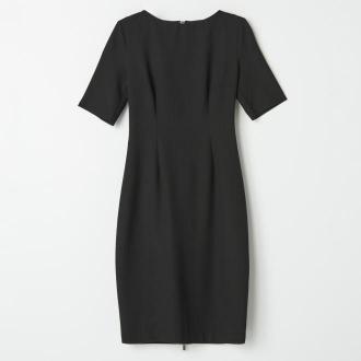 Mohito - Ołówkowa sukienka z zamkiem na plecach - Czarny