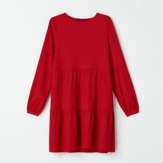 Mohito - Trapezowa sukienka - Czerwony