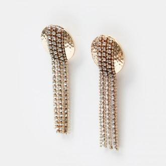 Mohito - Kolczyki z łańcuszkami - Złoty